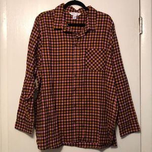Olds Navy XXL Plaid Button Down Shirt NEW!